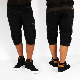 "Indian Project ""Relative\"" 3/4 short, Black"