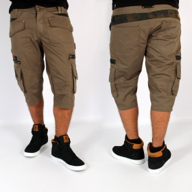 """Indian Project \""""Relative\"""" 3/4 short, Olive"""