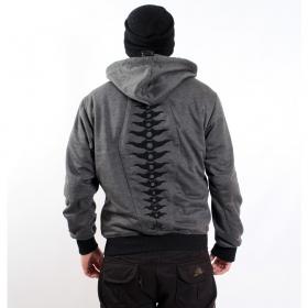 """Indian project jacket \\\""""evolution raptor\\\"""", grey"""