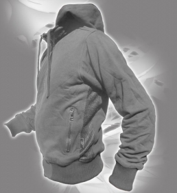 "Indian project jacket \""storm raptor\\\"", grey size s"