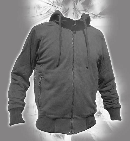 """Indian project jacket \\\""""storm raptor\\\"""", grey size s"""
