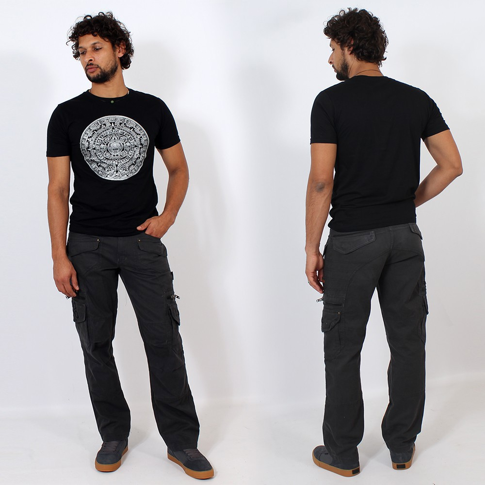 "Indian Project Pants \\\""Kontaktt\\\"", Grey"