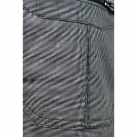 "Indian project pants \""vector\\\"", pixel grey"