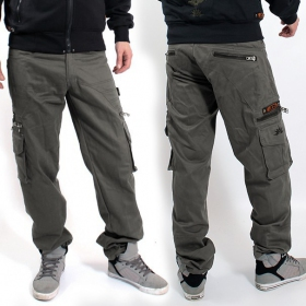 "Indian Project Pants \""Wake\\\"", Grey"