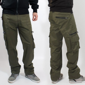 "Indian project pants \""wake\\\"", Khaki"