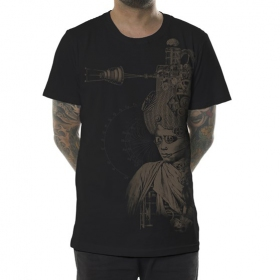 "\""Indiana\"" t-shirt, Black"