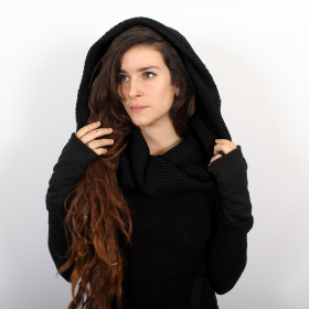 """Infinity\"" Snood, Black"