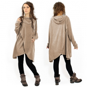 """Inika\"" poncho pullover, Beige"