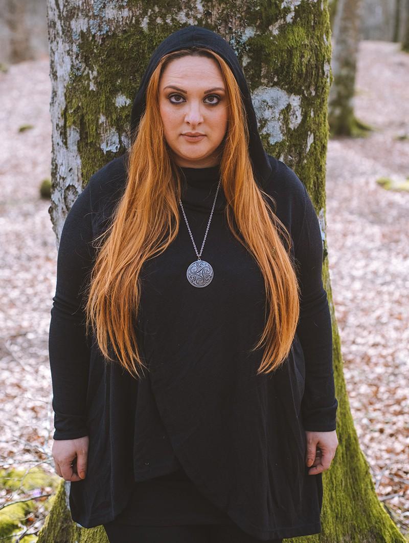 "\""Inika\"" pullover, Black"