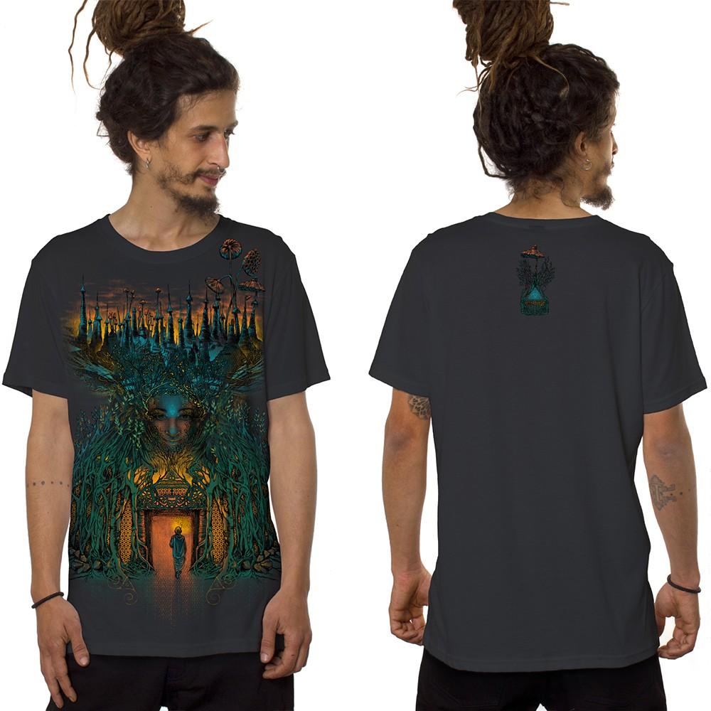 "\""Inner Forest\"" t-shirt, Dark grey"