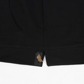 "\""Inti\"" sleveless hoodie, Black"