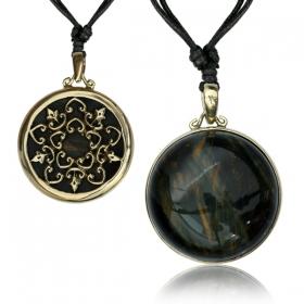 "\""Inugami Stone\"" necklace"
