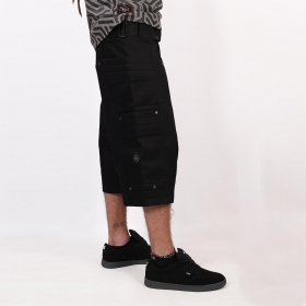 """Invader\"" short, Black"