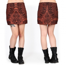 ""\""""Ishtar Africa"""" skirt, Black with copper prints""280|280|?|en|2|c0589dc572ef81b2cc5344edd5aef720|False|UNLIKELY|0.3554058074951172