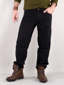 "\""Isildur\"" cargo trousers, Black"