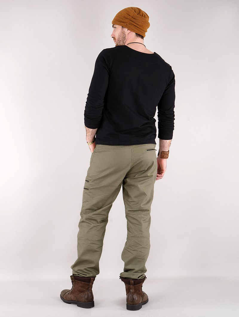 """Isildur\"" cargo trousers, Olive green"