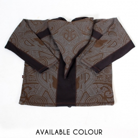 "Jacket dwarfhood GadoGado ""Inapo\"", Brown black"