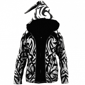 "Jacket dwarfhood GadoGado ""Manutahi\"", White black"