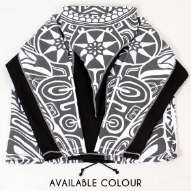 "Jacket dwarfhood GadoGado ""Manutahi"", White black"