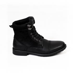 "\""Jasper\"" shoes, Black"