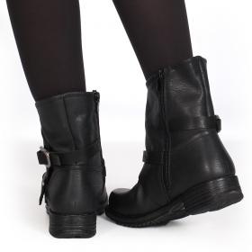 "\""Jawahar\"" boots, Black"