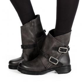 "\""Jawahar\"" boots, Grey"