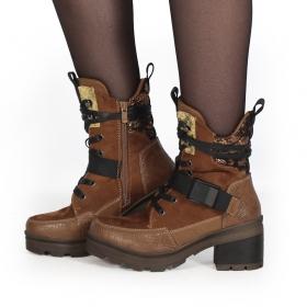 "\""Jiloh\"" boots, Camel"