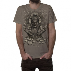 """Jinpa\"" t-shirt, Rock"