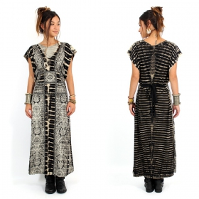 "\\\""Jourdan\\\"" long dress, Black"