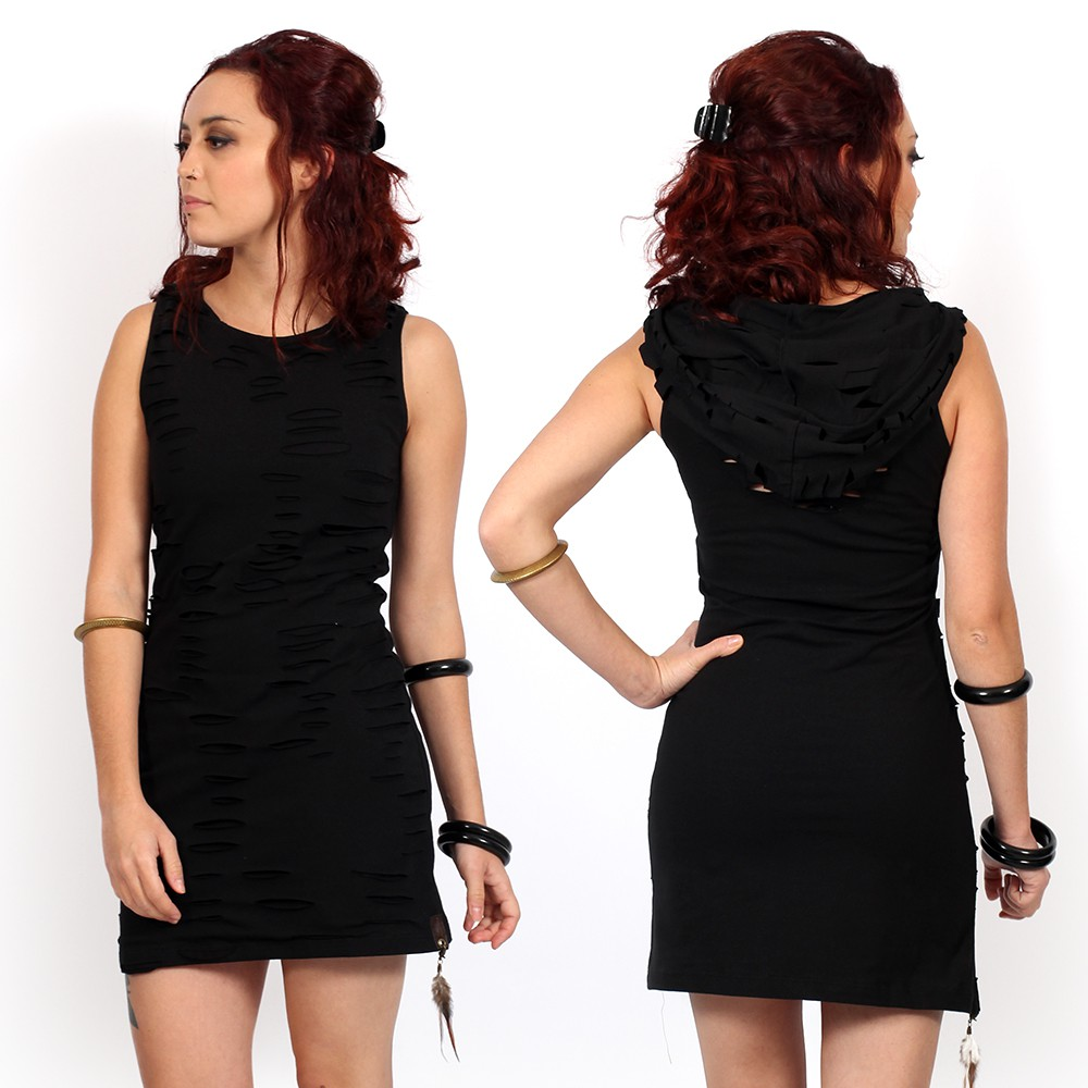 "\""Juno\"" dress, Black"