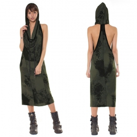 "\""Kajahari\"" reversible dress, Olive"