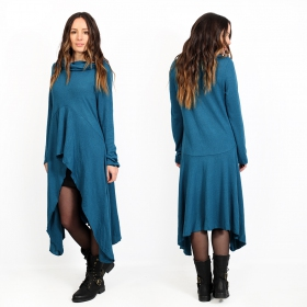 """Kajula\"" tunic-dress, Dark teal"