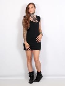 "\""Kalahari\"" dress, Black"