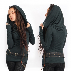 "\""Kali\"" pullover, Dark teal"