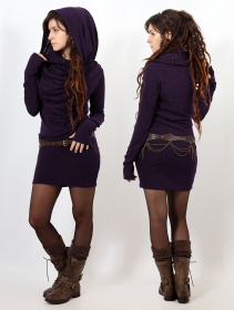 """Kali\"" pullover dress, Purple"