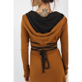 """Käliskä\"" dress, Rusty and Black"