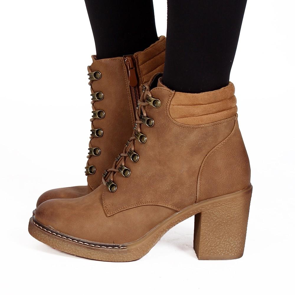 "\""Kamran\"" boots, Camel"