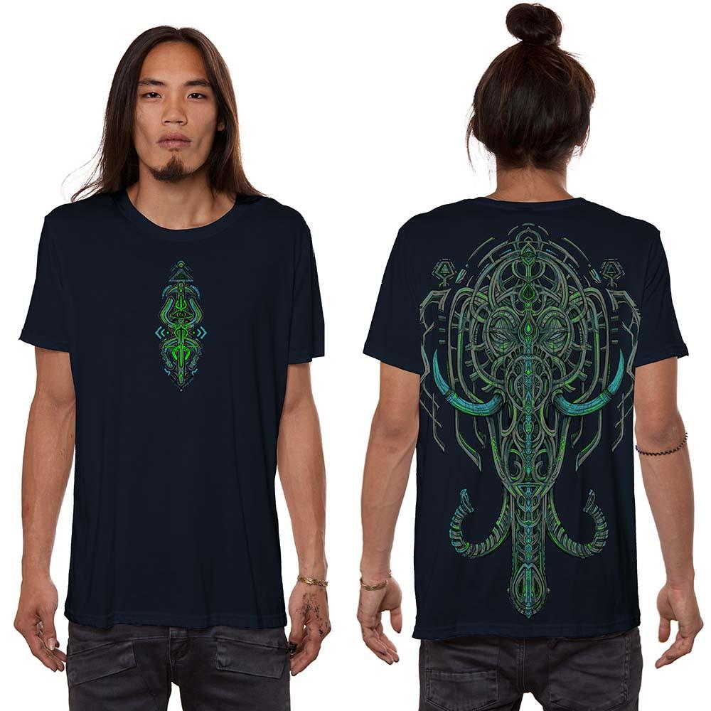 "\""Kandula\"" t-shirt, Dark blue"