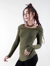 "\""Karmäa\"" pullover, Khaki green"