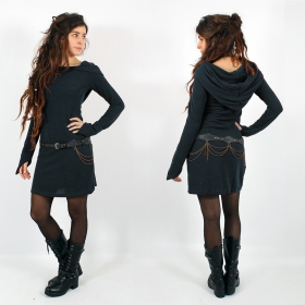"\\\""Karmäa\\\"" pullover dress, Dark teal"
