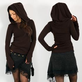 "\\\""Karmäa\\\"" pullover top, Brown"