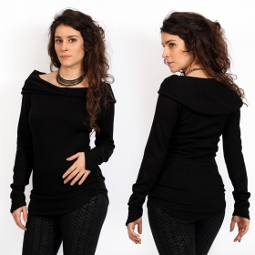 """Karmïk\"" sweater, Black"