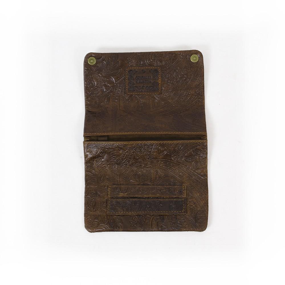 "\""Kavatza\"" leather pouch tobacco"