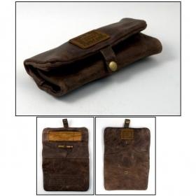 Kavatza tobacco leather brown