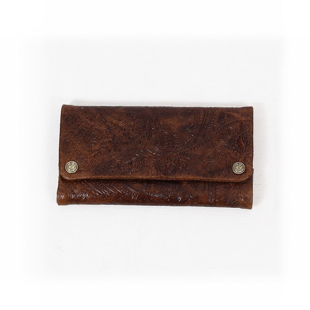 Kavatza tobacco leather brown