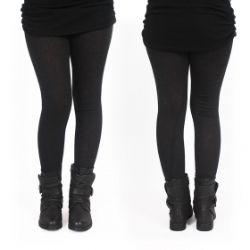 """Keiköo\"" long leggings, Black"