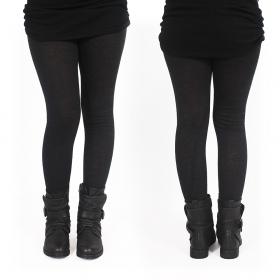 "\""Keiköo\"" long leggings, Black"