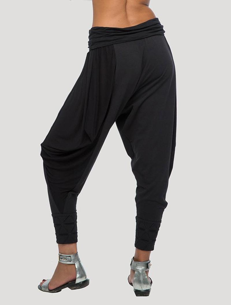"\""Kimo\"" Harem pants, Black"
