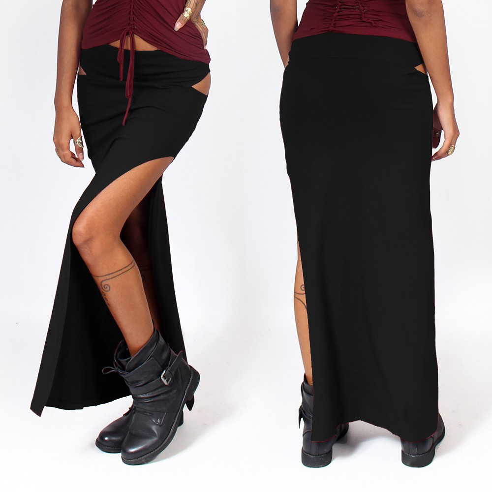 """Kinky\"" skirt, Black"