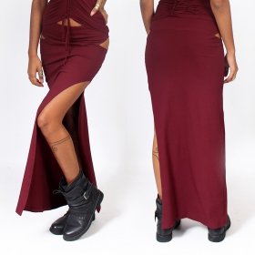 """Kinky\"" skirt, Deep red"